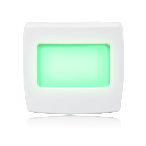 Maxxima Mini Green Always On LED Night Light Pack of 4