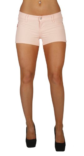 U-Turn Jeans Women's Shorts with French Terry With gentle butt lift stitching