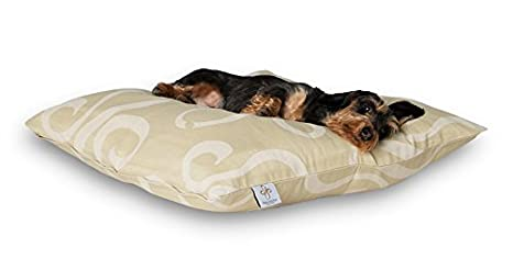 Darling Little Place cama para perros, 80 x 80 cm, arena Statement: Amazon.es: Productos para mascotas