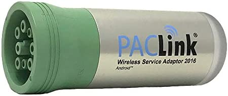 PACLink Wireless Heavy Truck Adapter Code Diagnostic Reader with 12 month subscription to TruckFaultCodes