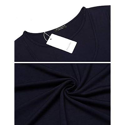Ekouaer Labor/Delivery/Nursing Maternity Pajamas Set for Hospital Home, Basic Nursing Shirt, Adjustable Size Pregnancy Shorts at Women's Clothing store