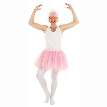 Party Discount Hombre Disfraz de Rock de Ballet, Color Rosa ...
