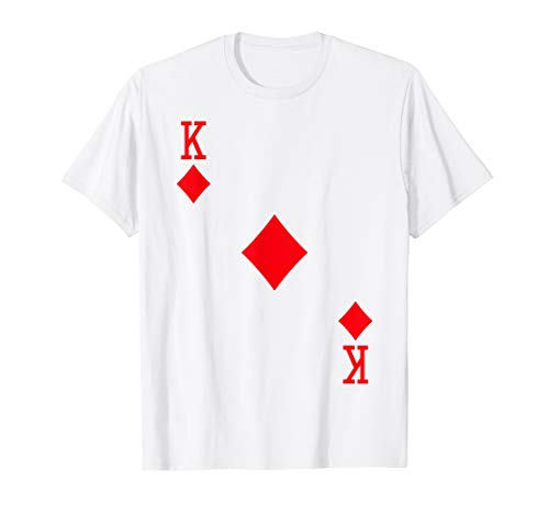 King of Diamonds Costume T-Shirt Halloween Deck of Cards]()