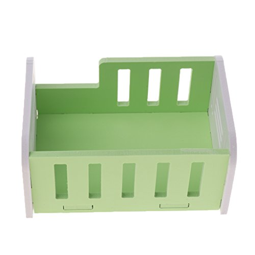 Baoblaze Hamster House Cave Home Habitat Small Animal Supplies Bed Hammock Nester 2Colors - Green from Baoblaze