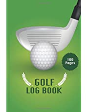 Golf Log Book: Golf Score Logbook to track your golf scores and stats best gift idea for golfer gift for dad Father's Day.