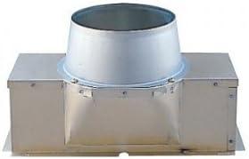 三菱 丸排気アタッチメント 接続パイプ:150mm P-28MAU
