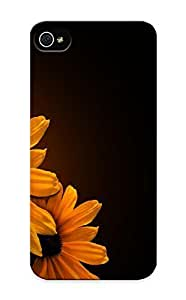 Honeyhoney Scratch-free Phone Case For Iphone 5/5s- Retail Packaging - Flowers Plants