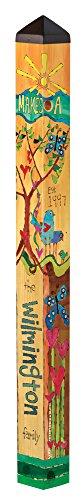 Custom Garden Art Pole - Family 4' x 4'' x 4'' by Studio M by Epiphany WOW
