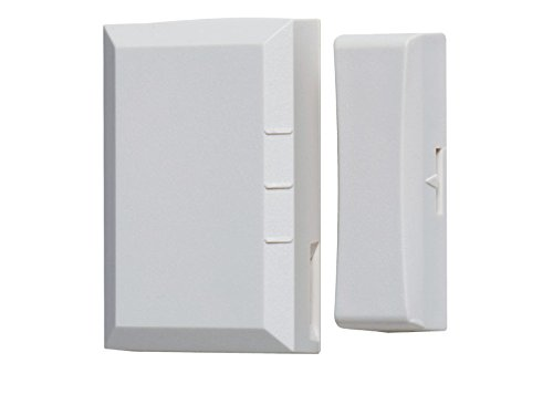 Linear NAPMDW01  Supervised Wireless Vanishing 2 Door/Window Transmitter, White (Vanishing Door)