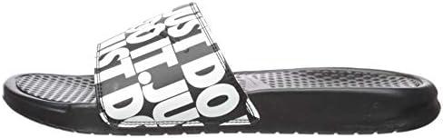 [ナイキ] メンズ サンダル ベナッシJDIプリント ブラック/ブラック 631261 023
