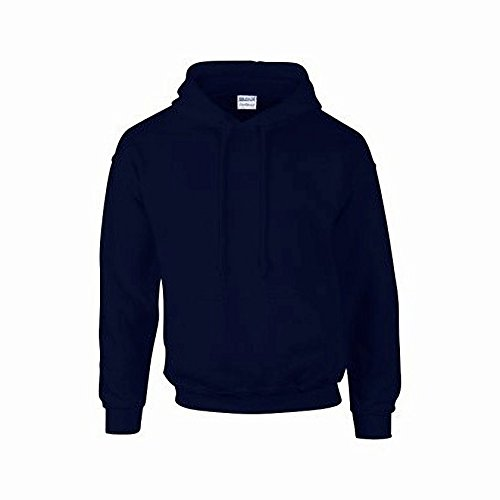 Gildan G125 DryBlend Adult Hooded Sweatshirt, Navy, ()
