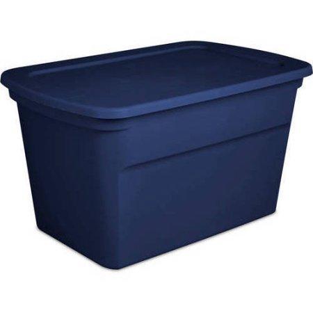 Sterilite 30 Gallon Tote Case Blue
