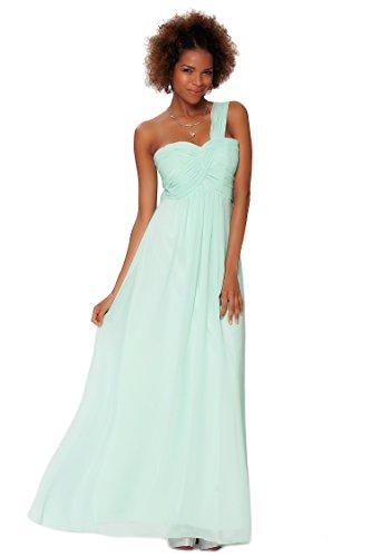SEXYHER Gorgeous Encuadre de cuerpo entero Uno damas de honor del hombro vestido de noche formal - EDJ1450 Seamist