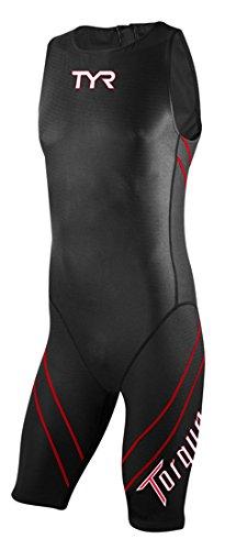 TYR Torque Pro Shortjohn Speedsuit: Black; MD by TYR
