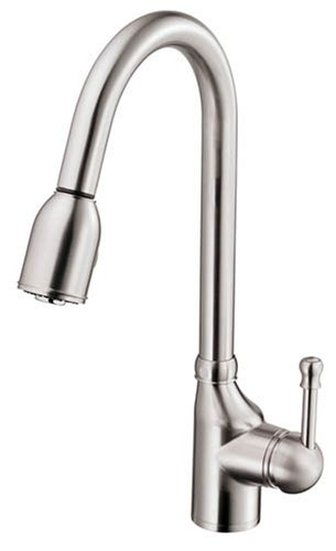 of faucet handle standard parts with single nsf kitchen danze faucets sink size spray opulence full veggie