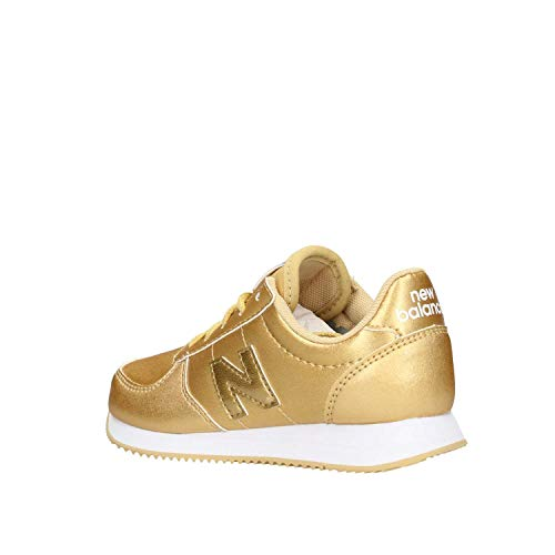 Syntethic Doré Balance New Sneaker Leather L220 Kid Gold RR61vq