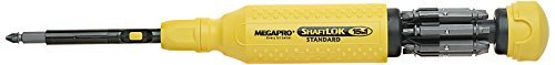 Megapro 151SL44 15-In-1 ShaftLok Driver, Yellow by Megapro (Shaftlok Driver)