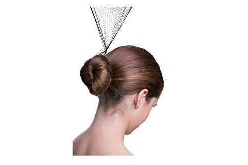 - Bloch Unisex-Adult's Hair Nets-3 Pack, dark brown, one