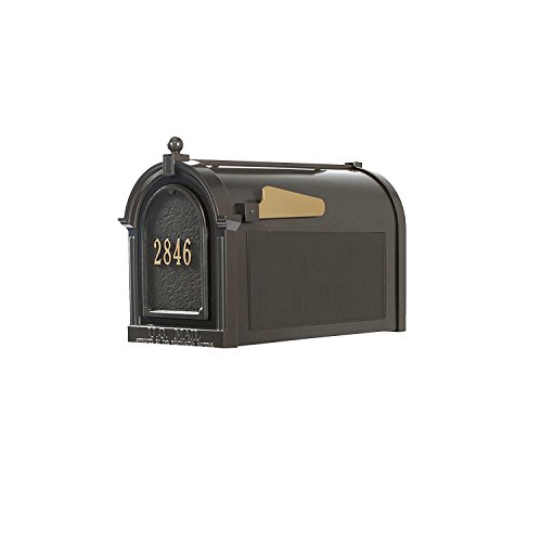 Whitehall Products16511 Superior Mailbox Package,French Bronze Door plaque by Whitehall (Image #2)