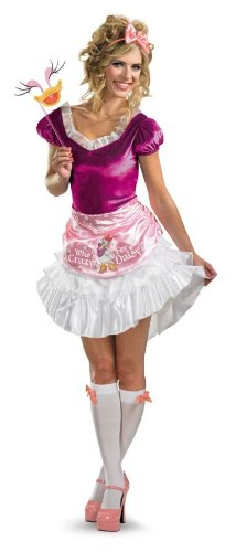 [Disguise Inc Women's Daisy Duck Costume Purple/Pink Medium] (Daisy Duck Costume)