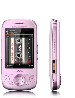 SONY Ericsson W20 ZYLO PINK (UNLOCKED QUAD-BAND)3MP VIDEO CAMERA, BLUETOOTH,MP3,MP4,MICROSD SLOT,FM RADIO [INTERNATIONAL VERSION WITH NO US WARRANTY] GSM SLIDER CELL (Sony Ericsson Screen)