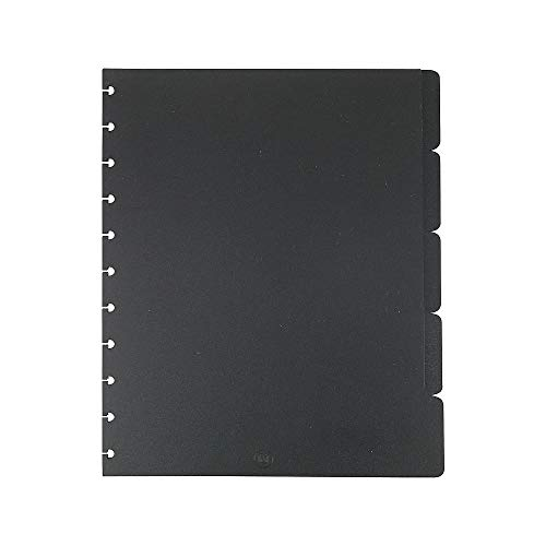 Staples? Arc Notebook Tab Dividers, Letter-sized, Black, 9