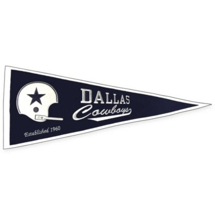 Nfl Throwbacks - Winning Streak NFL Dallas Cowboys Throwback Pennant