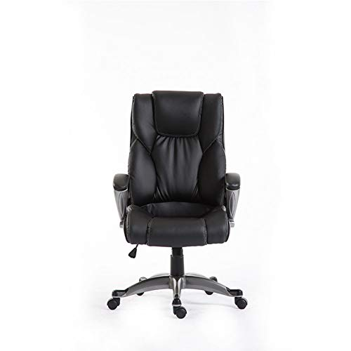 Yuguo Silla ergonomica para ordenador de oficina, ocio, silla giratoria puede elevarse y bajarse silla de oficina silla de gaming moderna minimalista