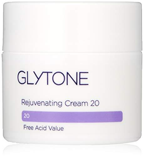 Glytone Rejuvenating Cream with 20 Free Acid Value Glycolic Acid, Moisturizer, Rich Creamy Emollient, Exfoliate, Normal to Dry Skin, 1.7 oz ()