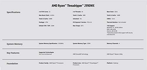 Build My PC, PC Builder, AMD Ryzen Threadripper 2990WX