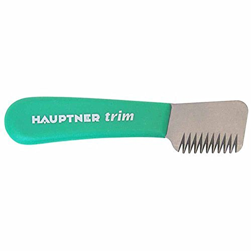 Hauptner Trim Stripping Knife, Right Handed - Coarse (Green)