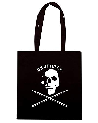 TR0041 Shirt Speed Nera Shopper Borsa DRUMMER PUPZqwIxdn