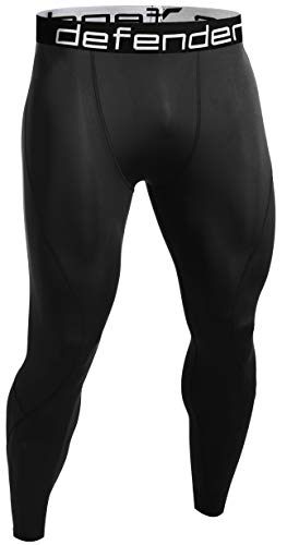 Defender Compression Pants Men Under Thermal Tights Shorts Fits Hockey BB_L