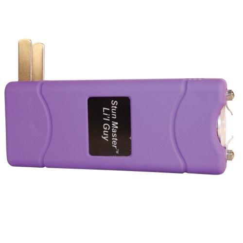 """Stun Master 7.5M Volt """"L'il Guy"""" Stun Gun - Purple"""
