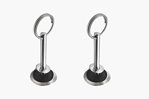 "Hatch Cover Pull - Marine City Stainless-Steel Hatch Cover Pull Dia.:1/4"", L:2"" (2 pcs)"
