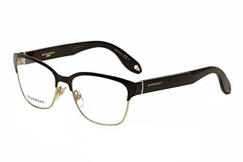 Givenchy Eyeglasses GV 0004 GV/0004 WRU Black/Gold Full Rim Optical Frame - Givenchy Eye