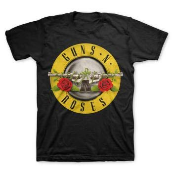 Bravado Men's Guns N Roses Bullet T-Shirt,Black,Small for sale  Delivered anywhere in USA