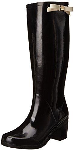 kate spade new york Women's Romi Rain Boot,Black,11 M US