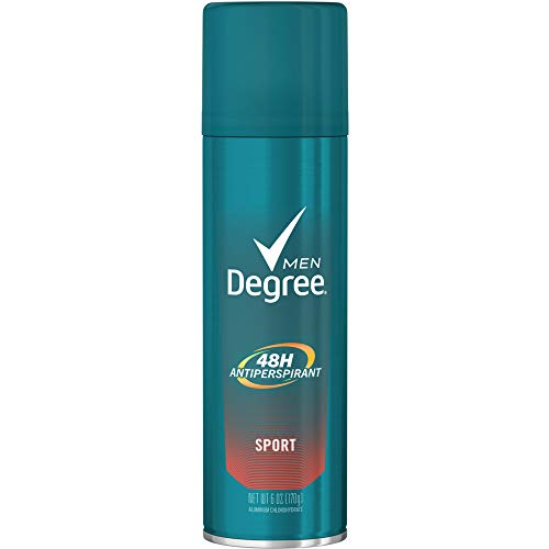 Degree Men Antiperspirant & Deodorant Aerosol, Sport 6 oz (Pack of ()