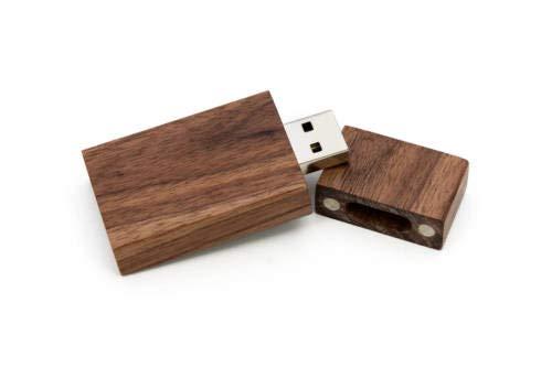 FidgetFidget Pen Drive Wooden Photo Box USB 2.0 Flash Engrav