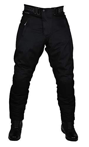 Roleff Herren 451kxxxl Schwarze Motorradhose mit herausnehmbarem Thermofutter Protektoren und Weitenverstellung für…