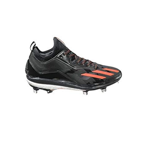 adidas New Energy Boost Icon 2 Baseball Metal Cleat Shoes Black/Orange Size 14 M