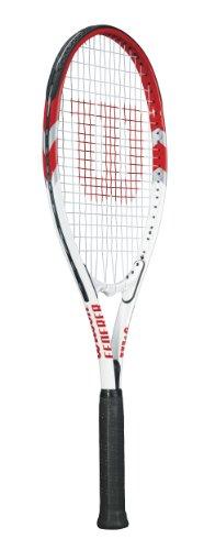 Wilson Federer Adult Strung Tennis Racket, 4 1/2