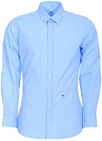 Moschino - Camisa clásica para hombre: Amazon.es: Ropa y accesorios