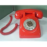 1950 Desk phone Red