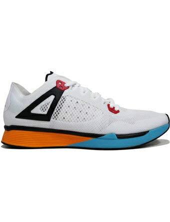 Jordan Mens Nike 89 Racer Cross Trainer White Black University Gold (10)