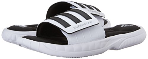 Superstar Adidas whiteblacksilver M 7 Slide Us Men's Sandal Performance 3g 2YEIWH9D