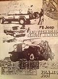 Jeep : 1978 Technical Service Manual (Volume 3 Body)