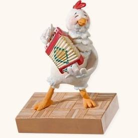 Hallmark Keepsake Ornament - The Chicken Dance Magic Sound 2008 - Christmas Tree 2008 Ornament