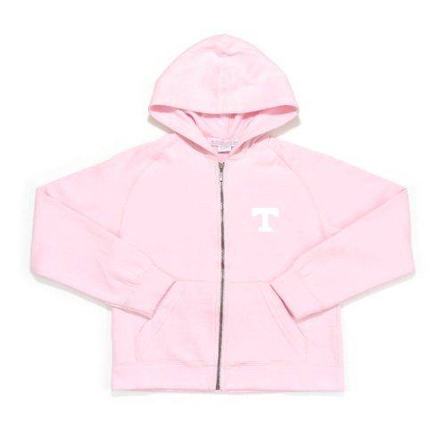 NCAA Tennessee Girl's Pink Lucky Long Sleeve Fleece Hoody